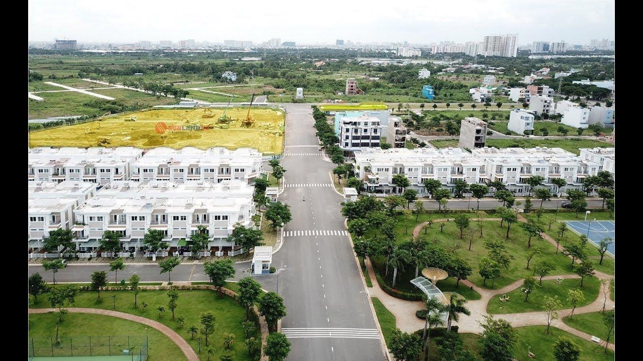 """""""Lovera Park – Lovera Vista"""" góc nhìn Flycam 360 độ khu dân dân cư Phong Phú Bình Chánh"""