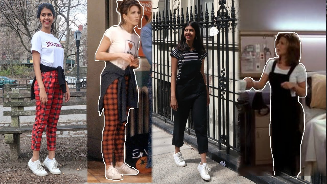 Recreating Rachel From Friends Outfits Sejal Kumar Youtube