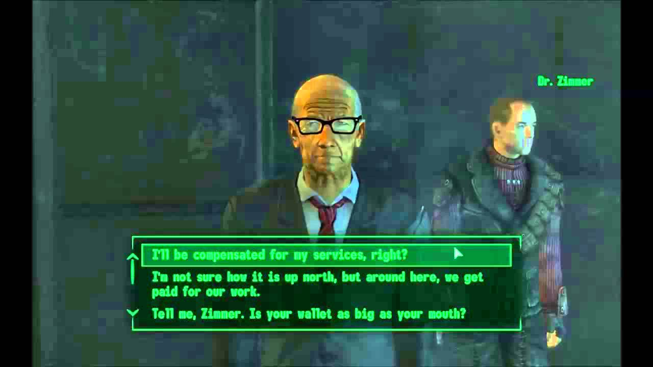 Fallout 3 how to find the android