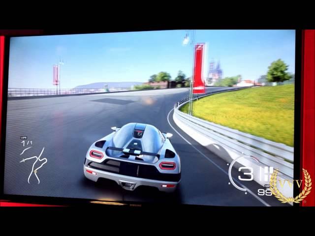 Forza 5 Exterior video gameplay E3 2013