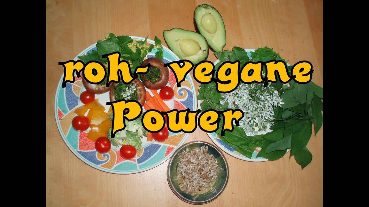 Ein rohköstlicher (veganer) Tag mit Sport - viel oder wenig essen?