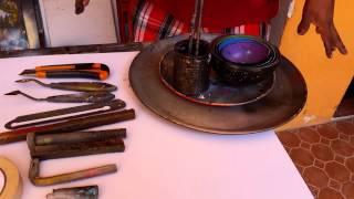 Art supplies for spray paint art