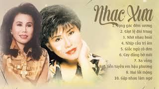 Gambar cover 10 bài NHẠC XƯA ít người biết của 2 chị em Thanh Tuyền & Sơn Tuyền