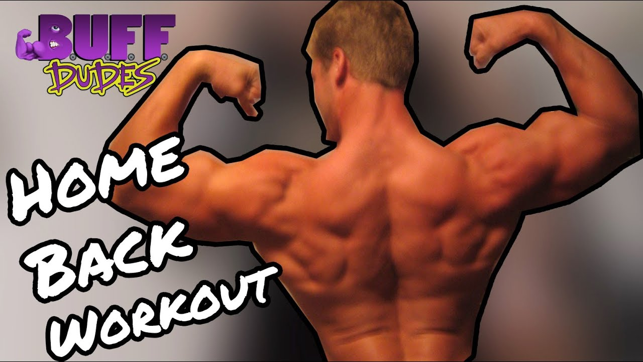 Home Workout Routine - Best Back Dumbbell Exercises