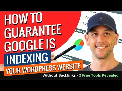 How To Guarantee Google Is Indexing Your WordPress Website Without Backlinks - 2 Free Tools Revealed