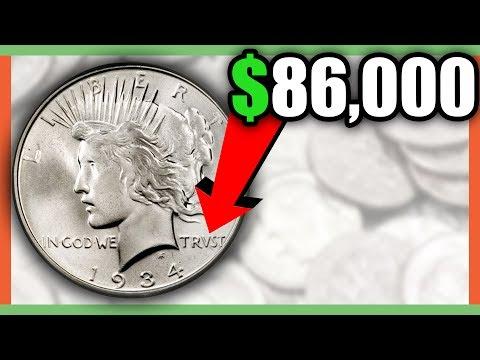 PEACE DOLLAR COINS WORTH MONEY - RARE SILVER DOLLAR COINS!!