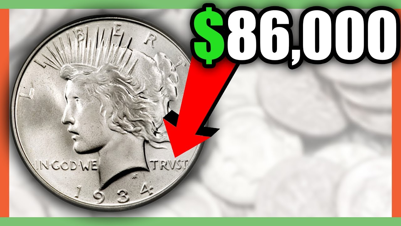Peace Dollar Coins Worth Money Rare Silver Dollar Coins