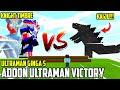 Ultraman Victory VS Kaiju!!! | Addon Minecraft Ultraman Victory | ウルトラマンビクトリー