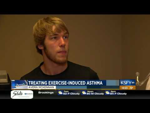 College athlete not letting exercise induced asthma hold him back Medical Minute
