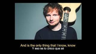 Ed Sheeran - Photograph (Subtitulos Ingles - Español)