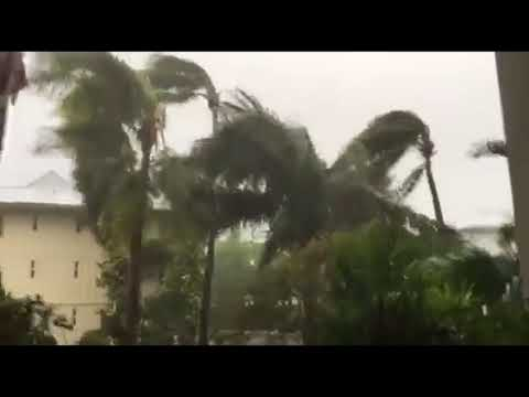 Hurricane Irma - 9:15am Key Biscayne Sunday, September 10, 2017