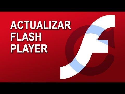 ☑️Comprobar y actualizar a la última versión de FLASH PLAYER de cualquier navegador web