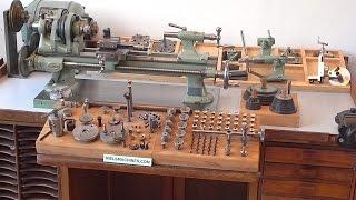 Boley Leinen A1L ø8mm Backgeared and Screwcutting Lathe with Accessories