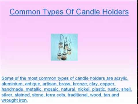 A General Guide to Candle Holder