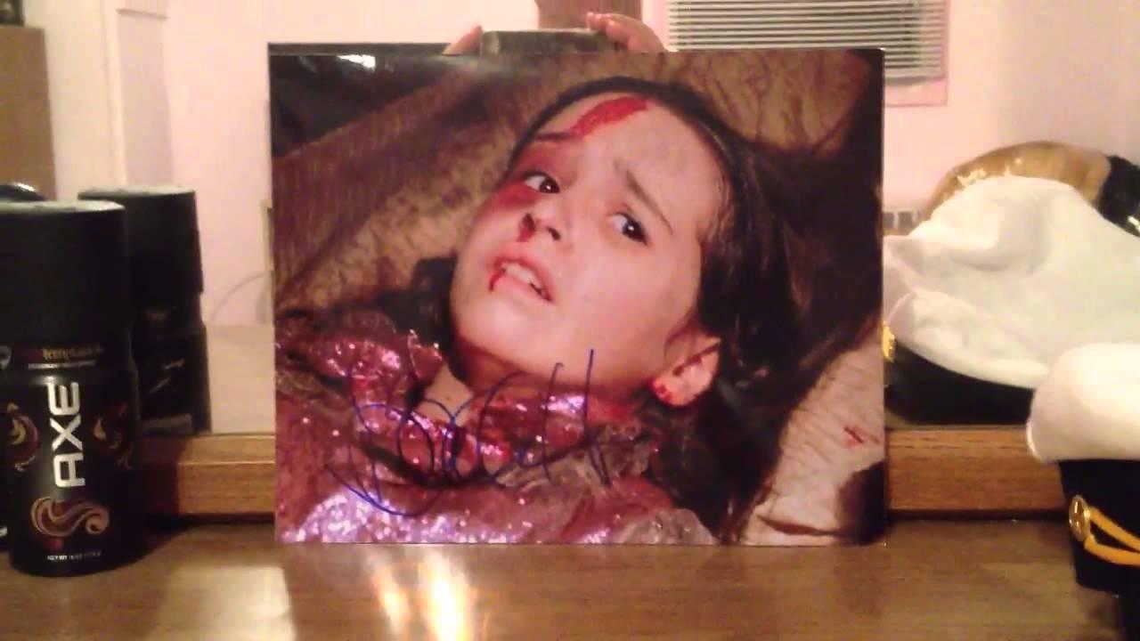 Danielle Harris Halloween 5 Autograph! - YouTube