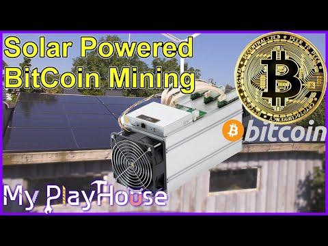 Solar Bitcoin Mining Ebit-E9+ and Robot Lawn Mower – 881