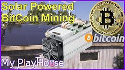 Solar Bitcoin Mining Ebit-E9+ and Robot Lawn Mower - 881