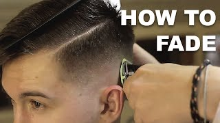 How to Fade: Fading down to skin