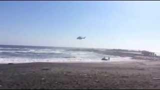 【サーファー水難事故】ヘリで救出