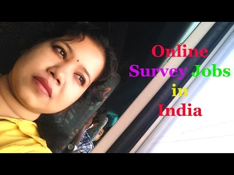 Online Survey Jobs in India - ( Hindi )