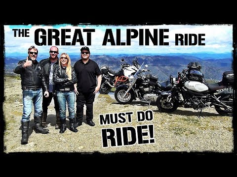The GREAT ALPINE Motorcycle Ride
