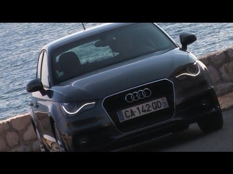 Test Audi A1 Sportback - Modèle 2012 - YouTube