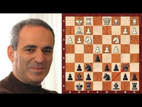 Amazing Chess Game : Artur Yusupov Vs Garry Kasparov Linares 1990 - King's Indian Defense (E69)