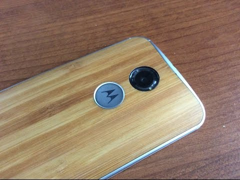 Verizon Moto X 2nd Generation (UNBOXING) & hands on