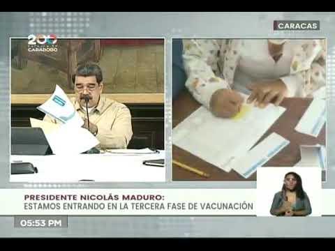 Venezuela detecta 2 casos de variante Delta del Covid-19: Método 7+7 continuará, informa Maduro