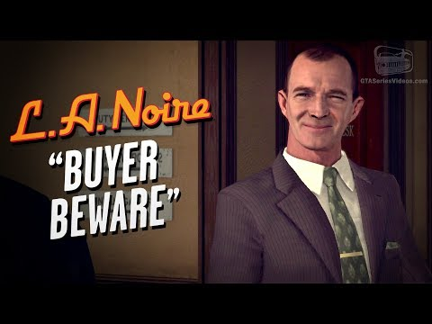LA Noire Remaster - Case #4 - Buyer Beware