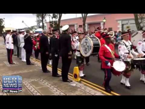 Remembrance Day Parade Bermuda, November 11, 2015