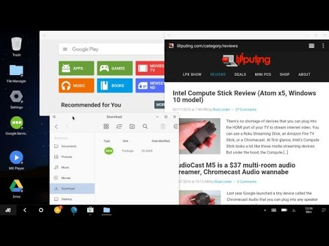 Remix OS for PC beta (dual-boots with Windows)