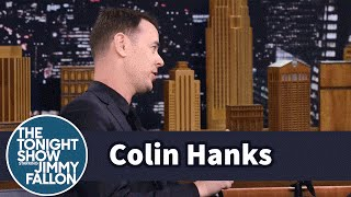 Colin Hanks Fell in Love with Jimmy's Mom