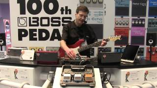 BOSS MDP Pedals NAMM 2013 Booth Demo