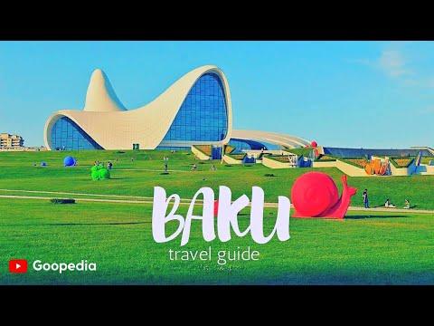 BAKU Travel Guide, 5 best places in baku azerbaijan !!