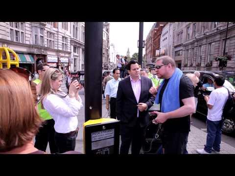 London Black Taxi Cab Demo 110614 TFL