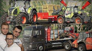 """Rozwaliłem CLAAS'a?! Nowa ładowarka i jazda na ręcznym ✔ """"od Zera do Farmera"""" #206 ✔ FS19MP"""