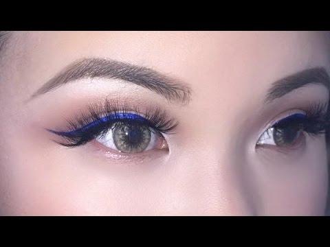 Colorful Liquid Eyeliner + Kylie Jenner Inspired Lips | KIM THAI