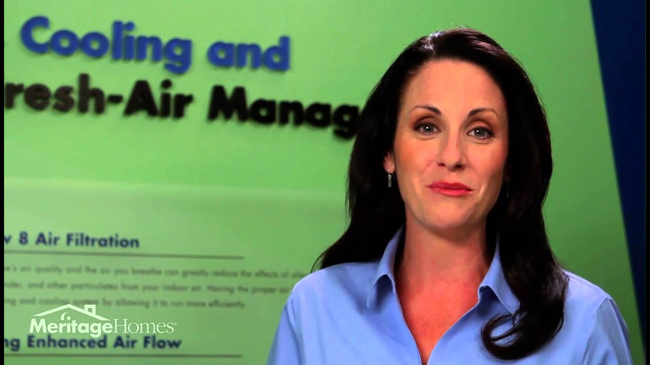 Heating & Cooling | Fresh Air Management | Meritage Homes