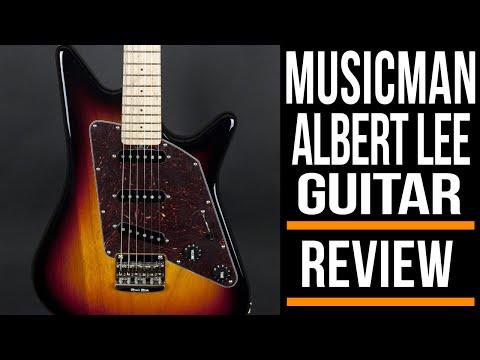 Ernie Ball Musicman Albert Lee Guitar  Review  Michael Casswell