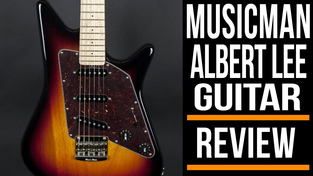 ernie ball musicman albert lee guitar review michael casswell youtube. Black Bedroom Furniture Sets. Home Design Ideas