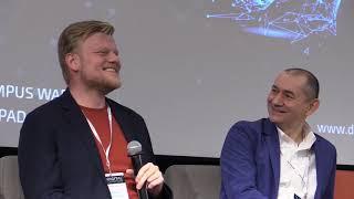 Sesja THE ENGINES OF INNOVATION I Debata FUTURE TECH MADE IN POLAND I Digital Champions 2018