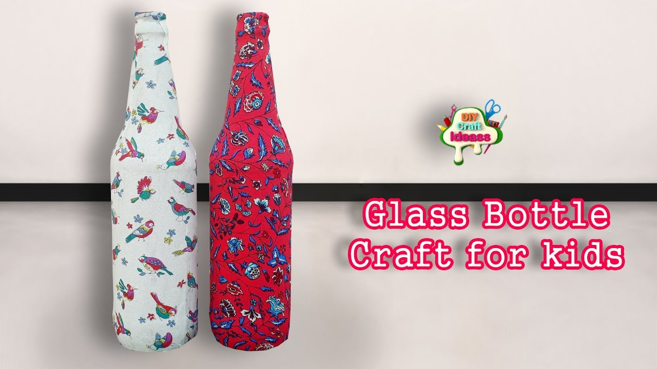Bottle Craft Glass Bottle Craft Diy Craft Ideas Youtube