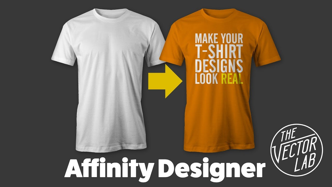 tutorial mock up t shirt designs in affinity designer affinity photo with thevectorlab. Black Bedroom Furniture Sets. Home Design Ideas