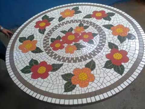 Benicio artes o betim mosaico youtube for Disenos para mosaicos