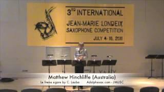 3rd JMLISC: Matthew Hinchliffe (Australia) Le frene egare by C. Lauba
