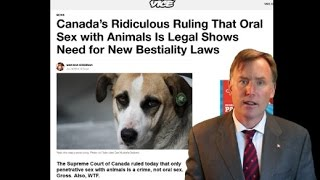 Sex with animals NEEDS to be a crime