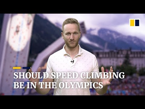 Should speed climbing be at the Olympics?
