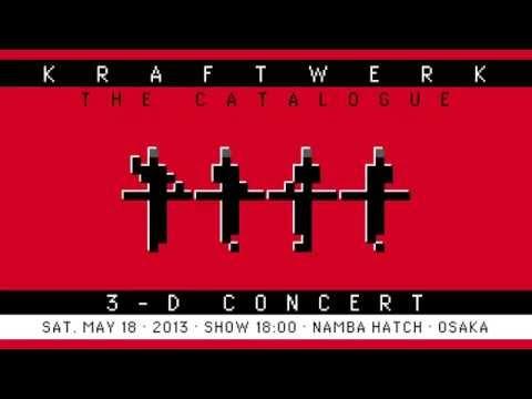 Kraftwerk - 3-D Concert - Namba Hatch, Osaka, 2013-05-18