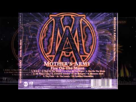 Mother's Army - Fire on the Moon [full album, HQ, HD] hard rock